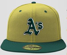 New Era Custom Oakland A's Hat