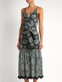 Menara floral-print dress Altuzarra Cheap Sale Choice Sale Amazon Great Deals For Sale 2018 Unisex Authentic qBkj62M