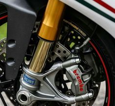 Ducati 1199 Panigale S Tricolore Ohlins