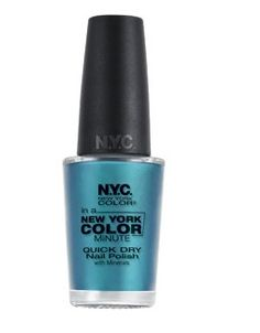NYC New York Color In A New York Color Minute Quick Dry Nail Polish....I must find this color!