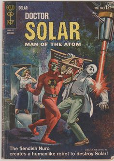 Doctor Solar V1 6.  VG Nov 1963.  Gold Key by RubbersuitStudios, $10.00