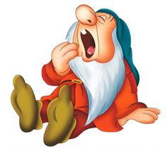 *SLEEPY ~ Snow White and the Seven Dwarfs Walt Disney movie animation enchanting fairytale. Walt Disney, Disney Magic, Disney Art, Disney Movies, Disney Pixar, Disney Wiki, Sleepy Snow White, Snow White Seven Dwarfs, Disney Clipart