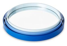Asst. of 3 Essential Trays, Blue
