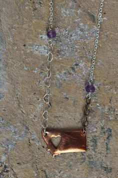 Home Base Necklace from The Montana Way