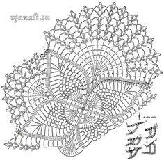 Crochet Art: Crochet Doilies - Free Crochet Pattern - Oval Lace Doilies Knitting PatternsKnitting For KidsCrochet Hair StylesCrochet Stitches Art Au Crochet, Beau Crochet, Diy Crafts Crochet, Crochet Home, Free Crochet Doily Patterns, Crochet Doily Diagram, Crochet Motifs, Filet Crochet, Free Pattern