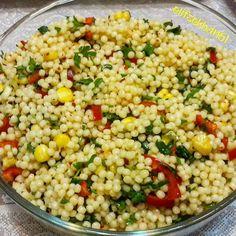 #kuskussalatasi hergün yesem genede bıkmam. . Tarif : bir paket kuskusu haşla Videolu Tarif hızlı bir şekilde sitemize eklendi. Sizler için hazırladığımız harika yemek tariflerini sitemizden güncel olarak bulabilirsiniz. Fried Rice, Fries, Salads, Good Food, Food And Drink, Vegetables, Ethnic Recipes, Instagram, Recipes