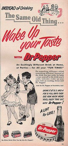 Dr Pepper.....my drink of choice