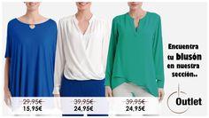¡Encuentra tu blusón visitando nuestra sección Outlet en Punt Roma Online! ► http://www.puntroma.com/es/outlet.html