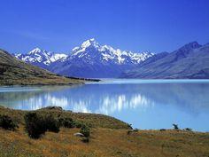 Aoraki Mount Cook National Park, Southern Alps, South Island, New Zealand Mount Cook New Zealand, New Zealand South Island, Of Wallpaper, Nature Wallpaper, Nature Hd, Spring Nature, Lake Mountain, Travel Photos, Beautiful Places