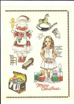 More dolls from American Paper 2 – Ulla Dahlstedt – Picasa Nettalbum