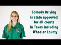 Wheeler County Texas Defensive Driving | Comedy Driving Inc  #defensivedriving #defensivedrivingtexas #safedriving #safedrivingtexas #trafficschool #trafficschooltexas #followme #pinme  http://www.comedydriving.com/
