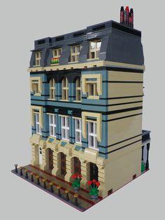 LEGO Custom Modular Haussmanian Building 2