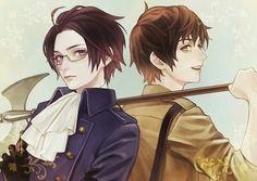 Hetalia - Austria and Spain