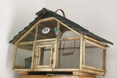 great old bird cage  Birdcage Ideas: More At FOSTERGINGER @ Pinterest.