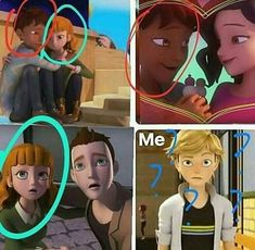 either a dope polyamorous/open relationship or. they copied the same animation like that red shirt guy<<<<< I've noticed that too! Ladybug E Catnoir, Ladybug And Cat Noir, Ladybug Comics, Ladybug Crafts, Funny Relationship Pictures, Funny Pictures, Open Relationship, Relationship Memes, Lady Bug