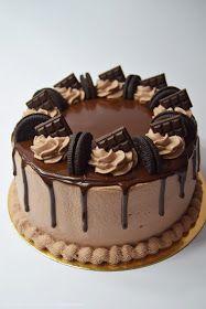 Tortowej mani ciąg dalszy, po delikatnych połączeniach przyszedł czas na coś konkretniejszego, zatem przedstawiam Wam mocno czekoladowy ...