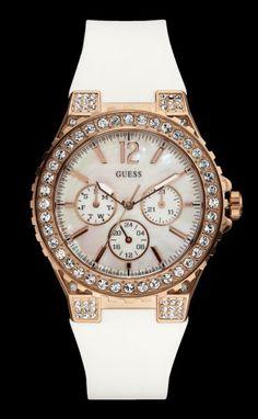 Wit-rose Guess horloge W16577L1 €229.95