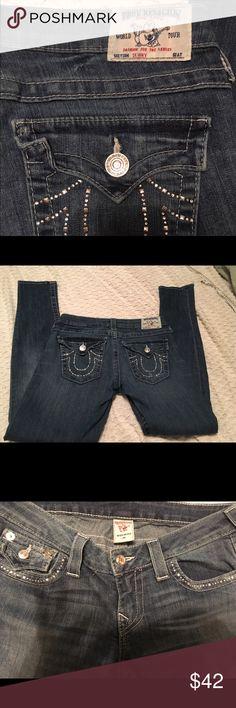 True religion jeans skinny Skinny true religion jeans size 29 inseams 32 True Religion Jeans Skinny