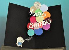 geburtstagskarte selber basteln pop up karte selber machen Source by freshideen Birthday Card Pop Up, Unique Birthday Cards, Funny Birthday Cards, Birthday Greeting Cards, Birthday Greetings, Homemade Birthday, Birthday Diy, Handmade Greetings, Greeting Cards Handmade