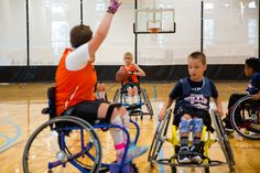 https://flic.kr/p/21khHRB | Jr. Pacers Wheelchair Basketball Home Tournament @ Mary Free Bed YMCA - Nov 4, 2017