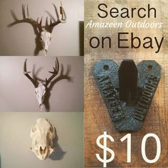 Something we liked from Instagram! Amazeen Outdoor 3D printed european skull hangers. $10 shipped. #ebay #amazeenoutdoors #skull #europeanskullmount #euromount #euroskull #3d  #3dprinting #3dprinter #outdoors #camo #deer #boar #wild #michigan #usa #trophy #share #follow #heart #hanger #hook #bracket #diy #display #handmade #abs #buyme by chrisamazeen check us out: http://bit.ly/1KyLetq