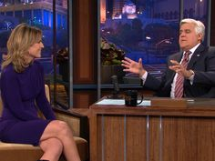 "The TODAY anchors chat about Savannah Guthrie's appearance on ""The Tonight Show"" and Jay Leno's jokes about headlines questioning whether Savannah is ""too tall."""