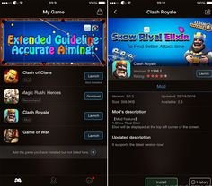 Hướng dẫn dùng XModGames Clash Royale trên iOS, Android 2