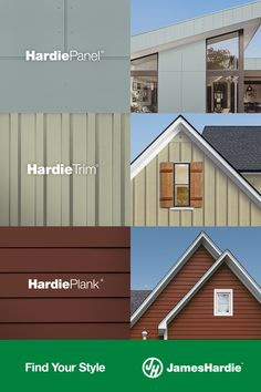 House Siding Options, Siding Colors For Houses, Exterior House Colors, Exterior Design, Home Exterior Makeover, Exterior Remodel, Backyard Sheds, Barn House Plans, Paint Colors For Home