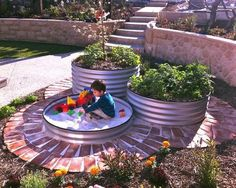 This is so beautiful. Can't wait until we can have a home we both chose.  Simple idea for a sand box here!