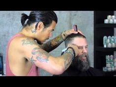 How to Trim a Beard by Daniel Alfonso featuring Roy Oraschin - YouTube