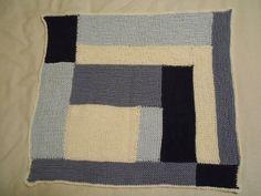 Ravelry: KnittingHalia's Moderne Baby Blanket