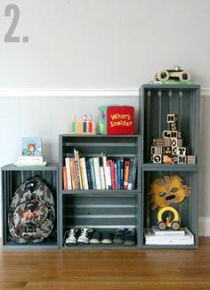 Crate bookshelf                                                                                                                                                                                 More