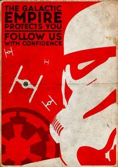stormtrooper snowtrroper star wars art print