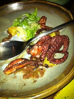 grilled octopus fennel, oranges, olive tapenade | A photo of Tavernita | Added by GossipGenie