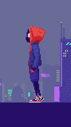 Miles Morales Pixel Art Sony Xperia Premium HD Wallpapers, Images, Backgrounds, Photos and Pictures Miles Spiderman, Miles Morales Spiderman, Black Spiderman, Spiderman Spider, Spiderman Pixel Art, Spiderman Marvel, Uicideboy Wallpaper, Marvel Wallpaper, Wallpaper Gratis