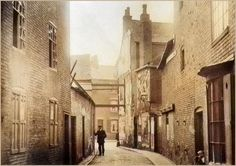 Highcross Street looking towards St Peter's Lane 1913 Uk History, Local History, Leicester, Back In The Day, Great Britain, Old Town, Old Houses, 1930s, Vintage Photos