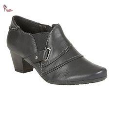 Chaussures-bottes En Cuir Lotus Celt Marine 5 - Chaussures lotus (*Partner-Link)