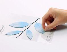 Tracing Sticky Note [ Leaves ] / Notepad / Memopad / Leaf by DubuDumo on Etsy https://www.etsy.com/listing/221175768/tracing-sticky-note-leaves-notepad