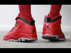 "5398a380e91e23 Air Jordan 10 Retro ""Bulls Over Broadway"" Retail Release Retro X Sneaker  Review"