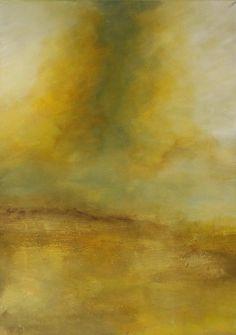 Dipinto astratto acrilico, Landscape, Beyond the sign - Originale di Saso Pippia di SasoPippia su Etsy