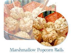 Rookie Cookie: Marshmallow Popcorn Balls with brown sugar and butter