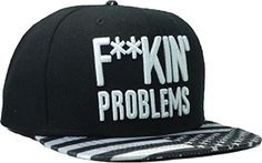 Letter Fuckin Problems Black Snapback Cap Hat for Men and Women Baseball Cap Cool Kings http://www.amazon.com/dp/B00H3D02S2/ref=cm_sw_r_pi_dp_MvQ5tb1V8MDZC