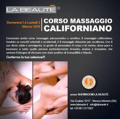 Domenica 1 e Lunedi 2 Marzo corso di massaggio californiano con il maestro Antonio Genova! Ti aspettiamo!!! — con Antonio Genova www.labeaute.it #massage #massaggiocaliforniano #corsomassaggio #estetica #bellezza #labeaute