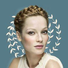 Envie d'une coiffure romantique ? Craquez pour la couronne tressée, une coiffure tendance et facile à réaliser grâce à notre tuto...