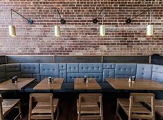 Fifty Acres, Melbourne. Modern industrial. Great booth seating. - Google Search