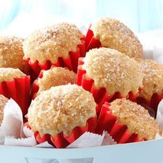 Doughnut Muffins Recipe -After many tries and many different recipes that just weren't up to par, I finally decided to recreate my own version of a doughnut muffin. It has the taste of a cake doughnut and it's a lot simpler to make. —Morgan Botwinick, Richmond, Virginia