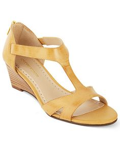 Adrienne Vittadini Shoes, Cissy Mid Wedge Sandals - All Women's Shoes - Shoes - Macy's