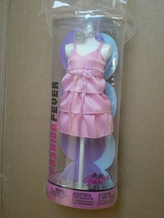 Doll Clothes Barbie, Barbie Dolls, Pink Ruffle Dress, Doll Outfits, Dress Shoes, Summer Dresses, Ebay, Fashion, Moda