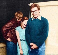 Mark Hamill, Carrie Fisher and Harrison Ford @retrostarwarsstrikesback