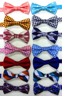 A bow tie by Eomaia.